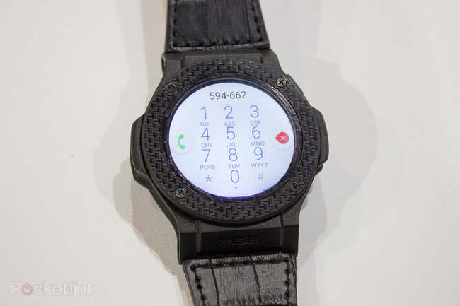 Omate Rise preview: Full Android 3G smartwatch with carbon fibre for $280 - photo 16