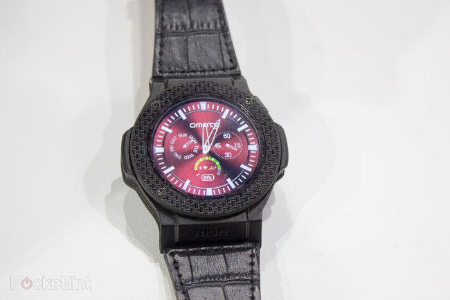 Omate Rise preview: Full Android 3G smartwatch with carbon fibre for $280 - photo 4