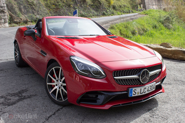 Mercedes-Benz SLC roadster first drive: New name, new engine, new limits - photo 3