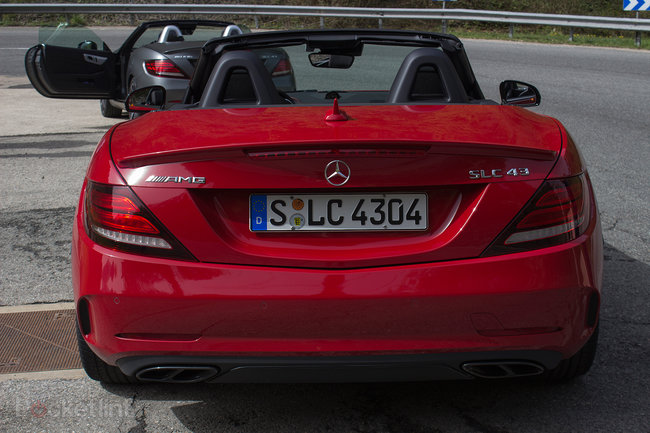 Mercedes-Benz SLC roadster first drive: New name, new engine, new limits - photo 5