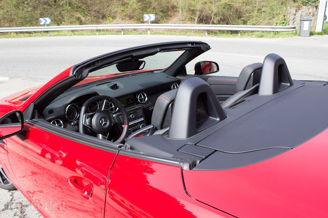 Mercedes-Benz SLC roadster first drive: New name, new engine, new limits - photo 7