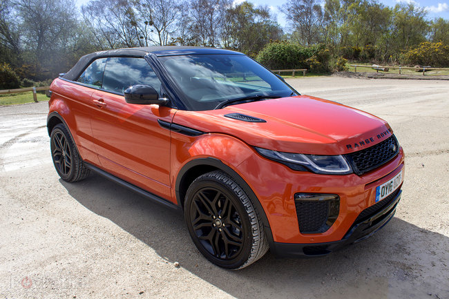 Range Rover Evoque Convertible first drive: Top down, revs up - photo 11