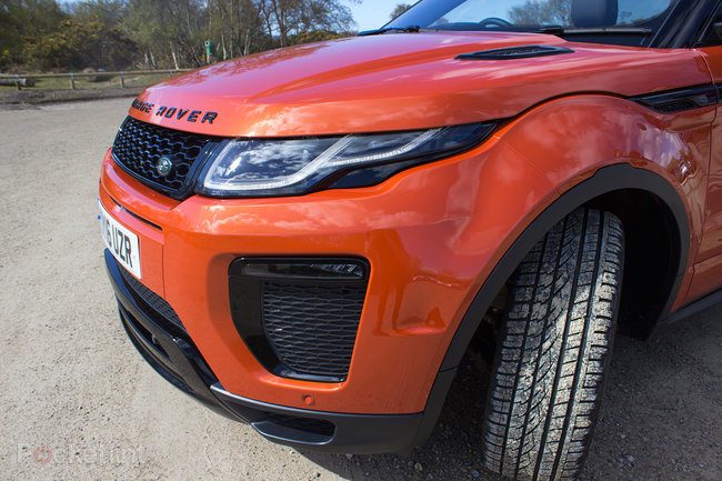 Range Rover Evoque Convertible first drive: Top down, revs up - photo 23