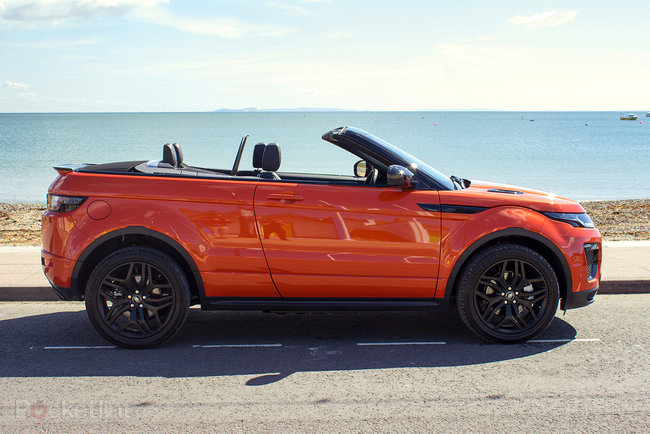 Range Rover Evoque Convertible first drive: Top down, revs up - photo 7