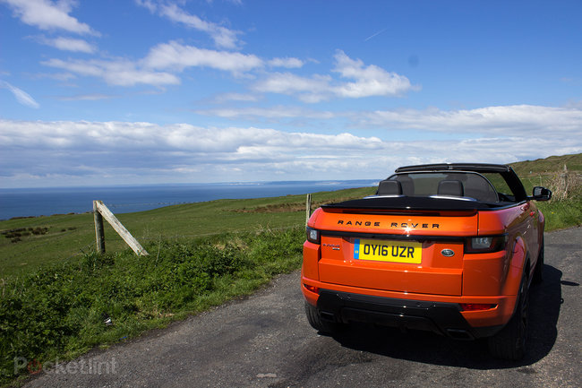 Range Rover Evoque Convertible first drive: Top down, revs up - photo 5