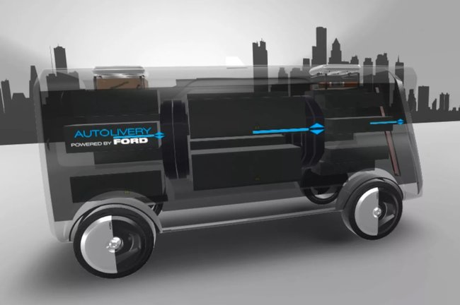 Ford wants its electric self-driving delivery vans to launch drones - photo 5
