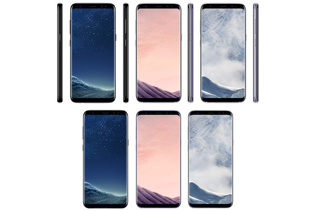 Samsung Galaxy S8 image leaks show multiple colours - photo 1