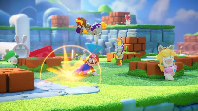 Mario + Rabbids Kingdom Battle gameplay preview: Cute and compelling turn-based action - photo 1