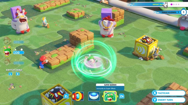 Mario + Rabbids Kingdom Battle gameplay preview: Cute and compelling turn-based action - photo 2