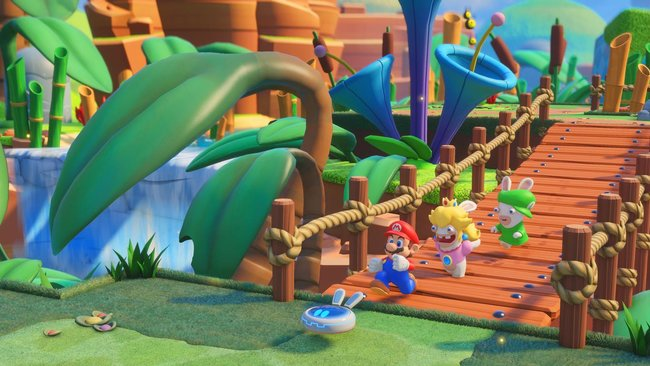 Mario + Rabbids Kingdom Battle gameplay preview: Cute and compelling turn-based action - photo 3