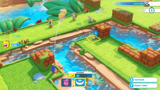 Mario + Rabbids Kingdom Battle gameplay preview: Cute and compelling turn-based action - photo 5