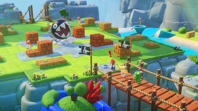 Mario + Rabbids Kingdom Battle gameplay preview: Cute and compelling turn-based action - photo 6