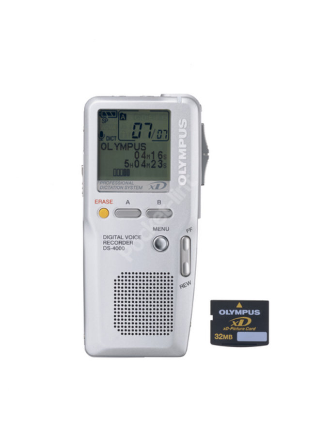 Olympus DS-4000 Voice Recorder - photo 2