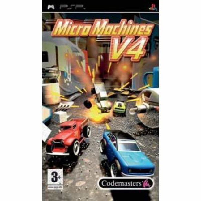 Micro Machines V4 - PSP - photo 1