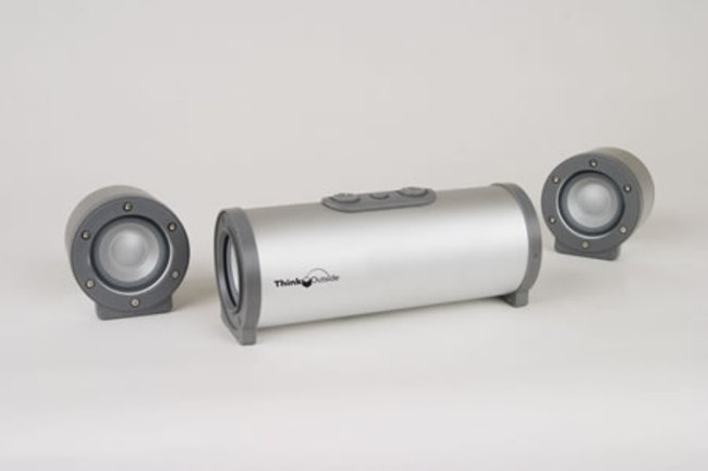 ThinkOutside BoomTube H20 speakers - photo 2