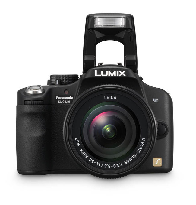Panasonic Lumix DMC-L10 DSLR camera - photo 2
