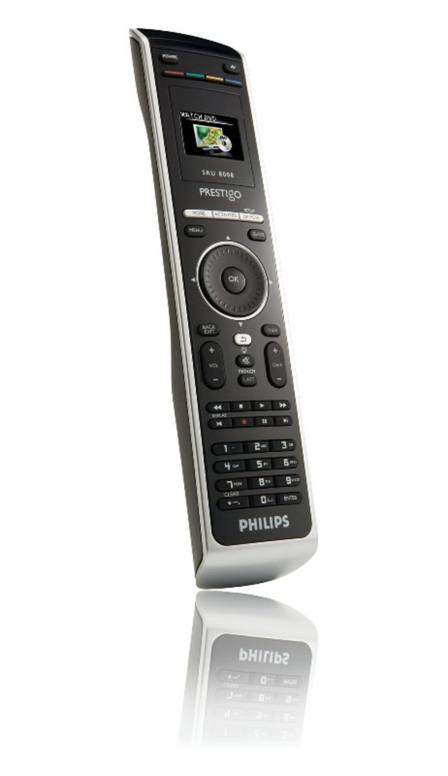 Philips Prestigo SRU8008 remote - photo 2