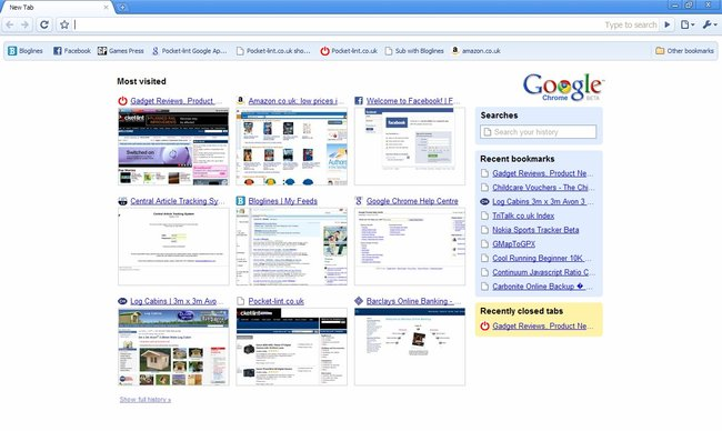 Google Chrome – First Look - photo 7