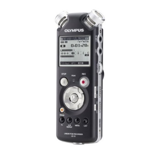 Olympus LS-10 voice recorder - photo 2