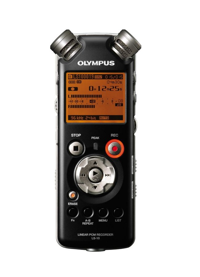 Olympus LS-10 voice recorder - photo 3