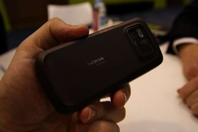 Nokia N97 mobile phone - First Look - photo 4