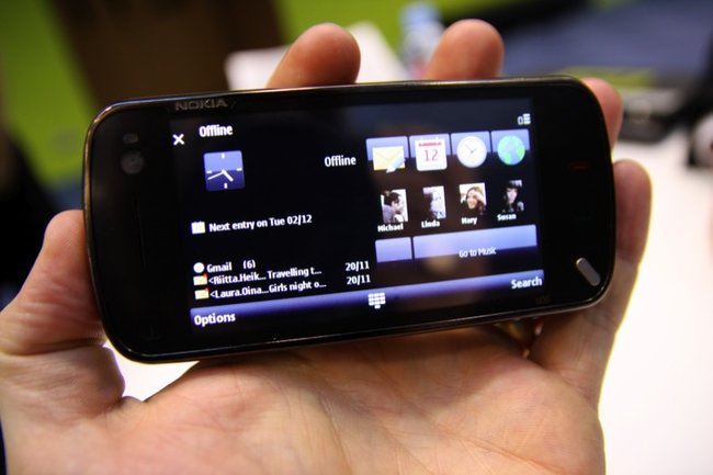 Nokia N97 mobile phone - First Look - photo 6