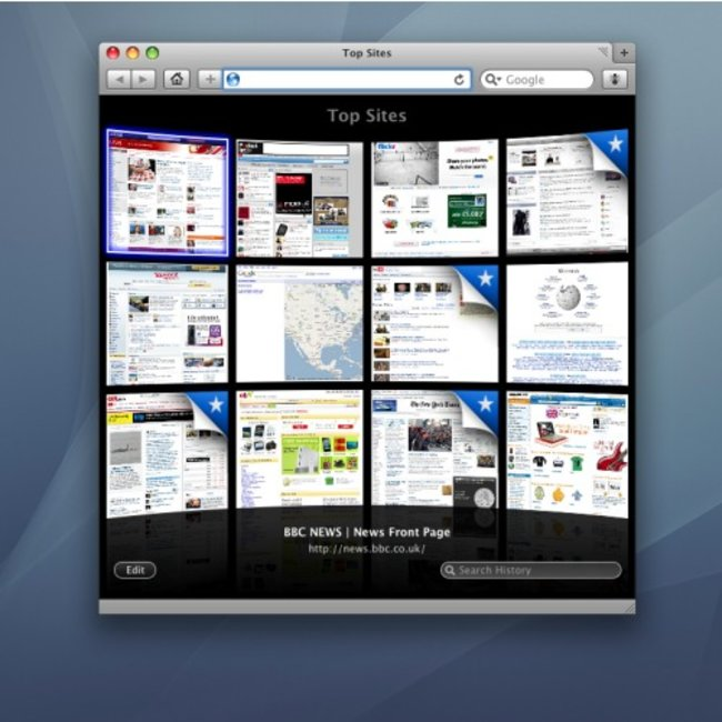 Apple Safari 4 Internet Browser - photo 1