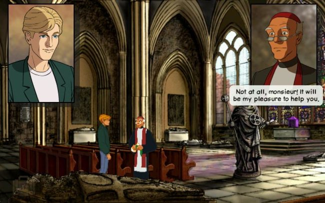 Broken Sword: Shadow of the Templars - The Directors Cut - Wii - photo 6