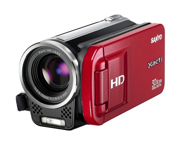 Sanyo Xacti VPC-TH1 camcorder - photo 2