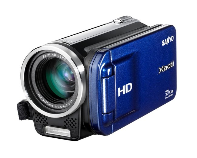Sanyo Xacti VPC-TH1 camcorder - photo 3