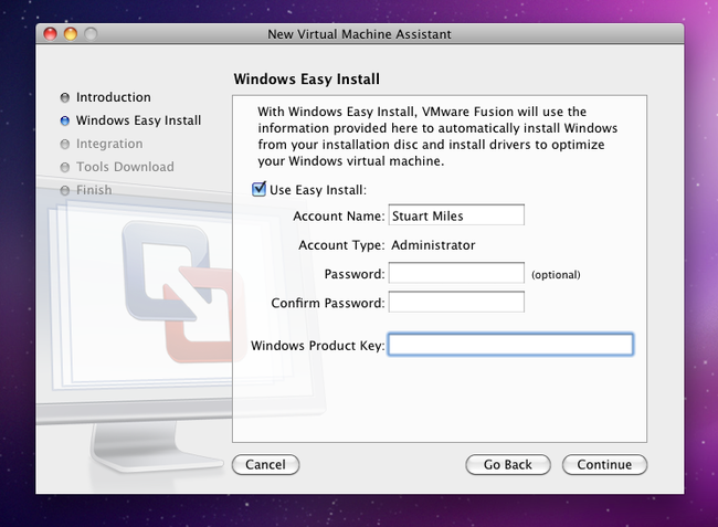 VMware Fusion 3 - Mac - photo 2