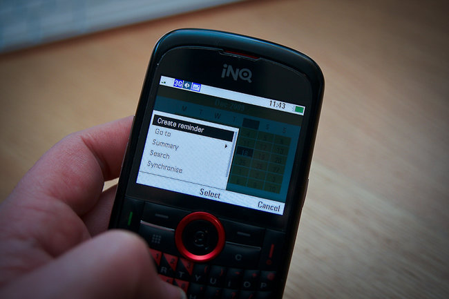 INQ Chat 3G - photo 25