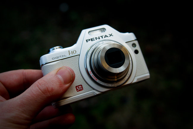 First Look: Pentax Optio I-10 digital camera - photo 2