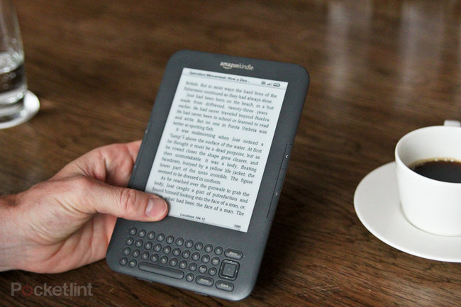 First Look: Amazon Kindle Keyboard 3G - photo 1