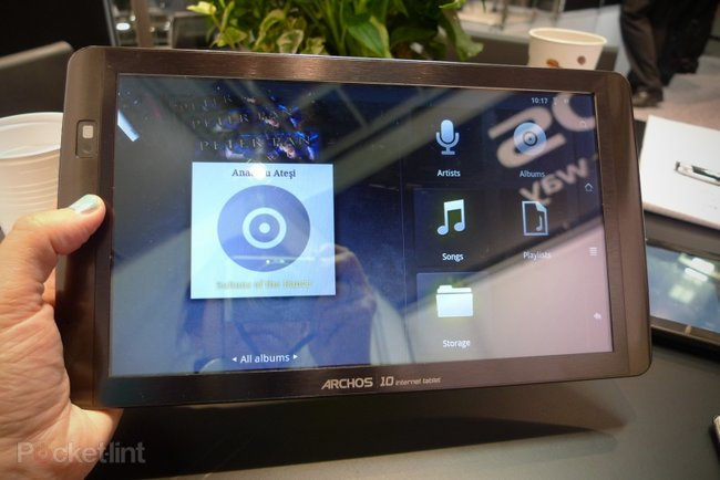First Look: Archos 101 Internet Tablet - photo 5