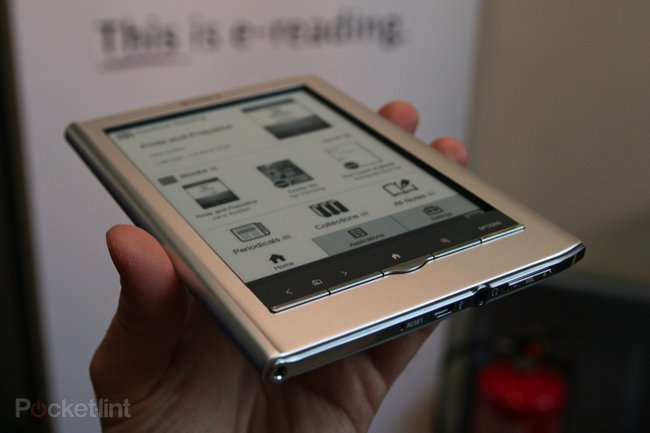 First Look: Sony PRS-650 Reader Touch - photo 1
