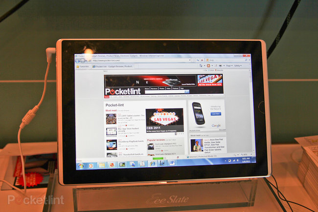 First Look: Asus Eee Slate EP121 - photo 2