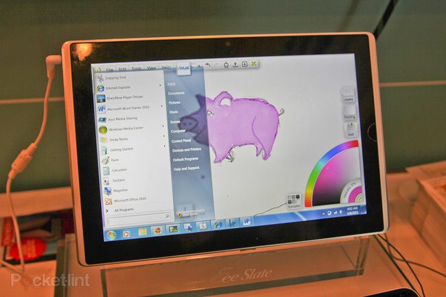 First Look: Asus Eee Slate EP121 - photo 3