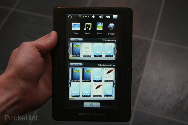 Archos 70b eReader review - photo 2