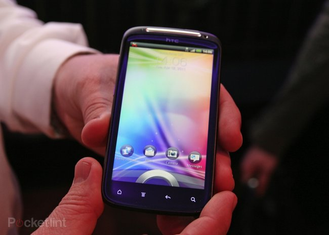 First Look: HTC Sensation   - photo 2