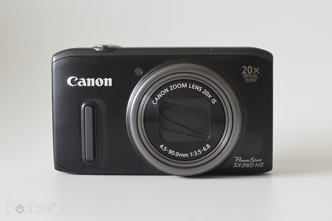 Canon PowerShot SX260 HS - photo 2
