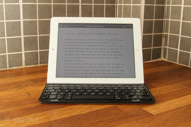 Logitech Ultrathin Keyboard Cover for iPad - photo 1