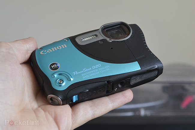 Canon PowerShot D20 - photo 2