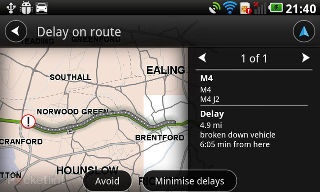 TomTom for Android - photo 12