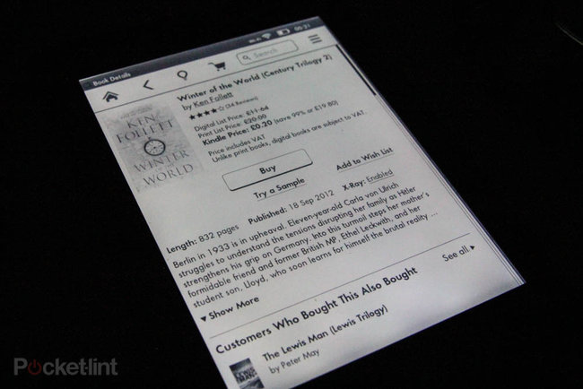 Amazon Kindle Paperwhite (2012) review - photo 4