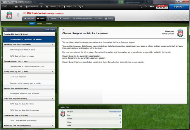 Football Manager 2013  - photo 7