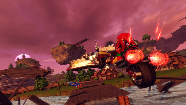 Sonic and Sega All Stars Racing Transformed (Wii U) - photo 2