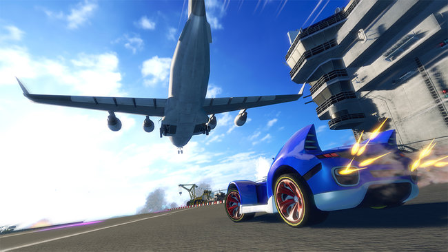 Sonic and Sega All Stars Racing Transformed (Wii U) - photo 6