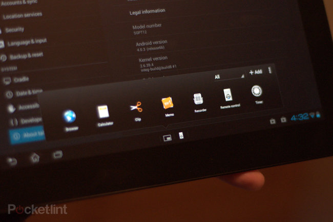 Sony Xperia Tablet S - photo 12