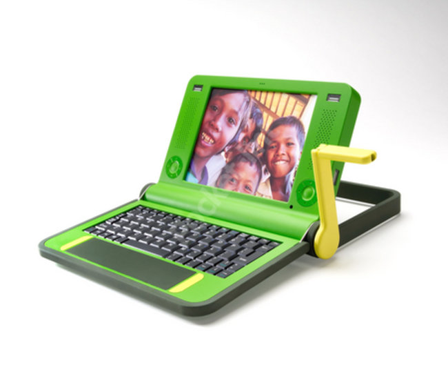 MIT unveils $100 laptop to the world - PLUS IMAGES - photo 1